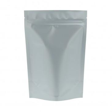 Stand Up Pouch matt silver-160x230+{45+45} mm (Matt Bopp)