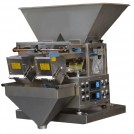 Linear weigher, double head - Industrial quality (24/7 operation)